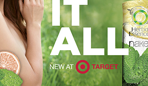 Target | Herbal Naked Mobile Ad