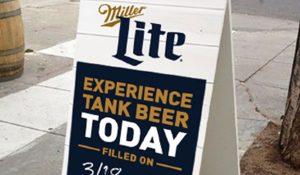 Miller Lite Tank Beer Event