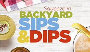 Miller Coors Backyard Sips & Dips